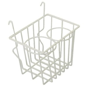 Vw Bus White / Ivory Storage Wire Basket - All Type 2 Bus 1955 Thru 1967