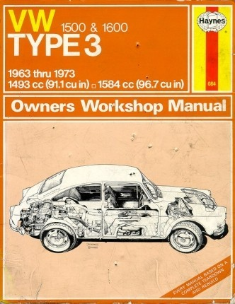 VW Haynes Repair Manual Fastback