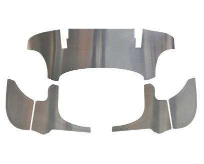 5 Piece Aluminum Firewall Kit. Fits Karmann Ghia
