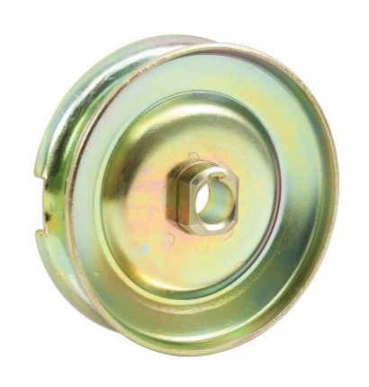 Alternator or generator pulley 12V gold/zinc