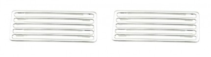 Deck lid grill set aluminum 2 piece for bugs Made In Germany