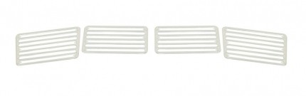 Deck lid grill set aluminum 4 piece for bugs