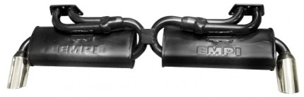 Dual Quiet PAK Exhaust System Type 2 & 411 72-75