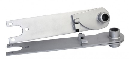 """Adjustable spring plates for 21 3/4"""" bars swing Axle"""