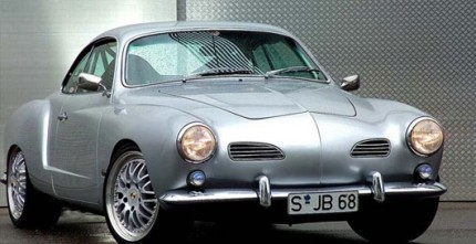 Stainless Steel Bumper Bars Karman Ghia EU Style With Overriders 56-71 PAIR