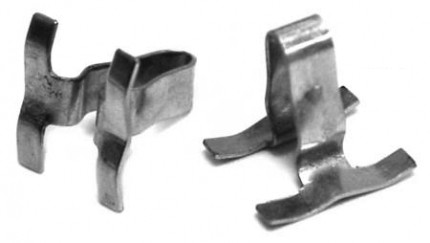 Clips for body molding for bug 52-66 pack of 50 Metal