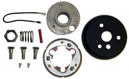 VW Beetle Steering Wheel Hub Adapter Kit 49-59, 24 spline
