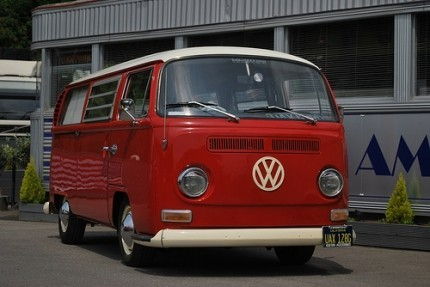 Stainless Steel Bumper Bars VW Bus T2 Early Bay PAIR
