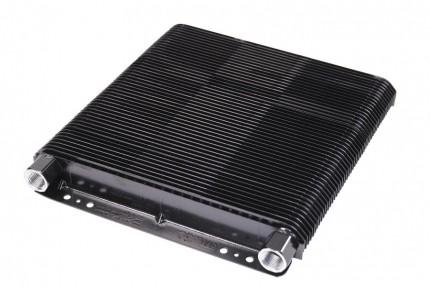 "oil cooler flat 72 plate cooler only 1 1/2"" x 8"" x 11"""
