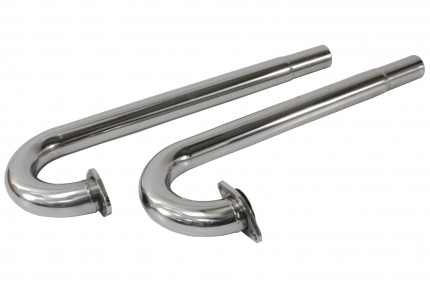 Stainless Steel J-Tubes w/out flanges all upright bug style engines