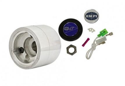 Type 2 kombi polished billet steering wheel boss kit