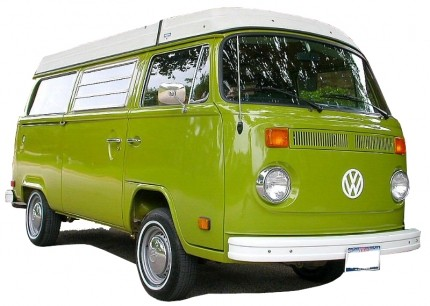 Stainless Steel Bumper Bars VW Bus T2 Late Bay