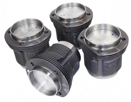 MAHLE piston & cylinder set 85.5mm cast 1600cc
