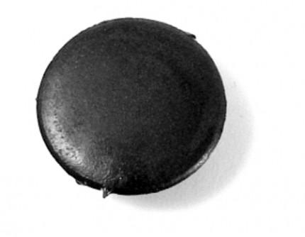 Door hinge hole cap set - black, bug & type 2 68-79