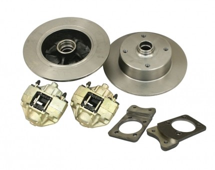 Disc Brake Kit Front 4 x 130, Super Beetles all Years