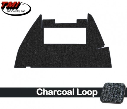 TMI Trunk Carpet Bug 56-59 Charcoal
