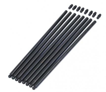 "Chromoly cut 3/8"" push rod set, for dual springs & Late bus"