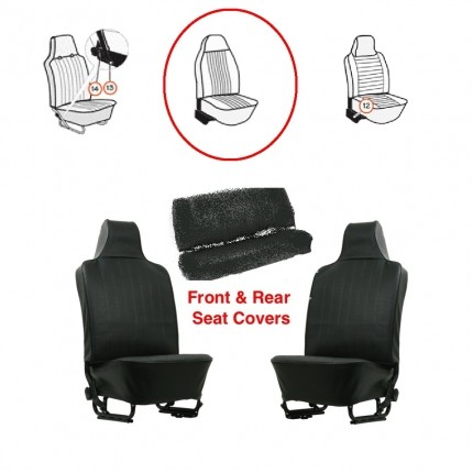 Seat Covers Set Bug 73