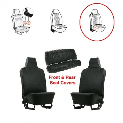 Seat Covers Set Bug  75-77
