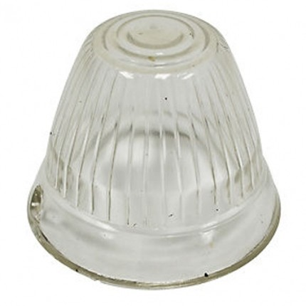 Turn signal lens clear left or right fits; Bug 55-57, Bus 56-62 EACH