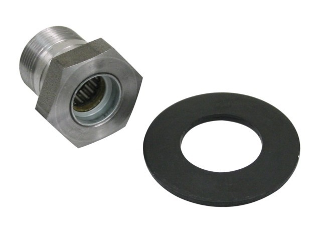 Flywheel gland nut & HD washer 36mm