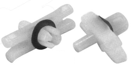 Clips for body molding for bug 67-79 pack of 50 Plastic