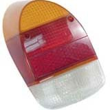 Tail light lens L or R bug 68-70 Euro style EACH