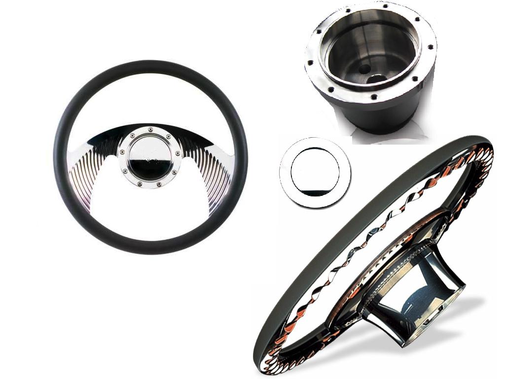 "Sidewinder Billet Steering Wheel Set ""Terminator"""