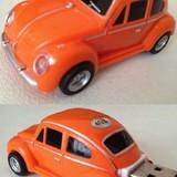 VW Beetle Car USB Memory Stick Flash Drive 4Gb  Orange