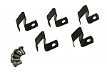 Hubcap spring and rivet kit Set of 5