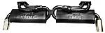Dual Quiet PAK Exhaust System Type 2 & 411 72-75