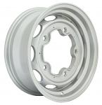 "Vintage 190 Silver Aluminum Vw Wheel, 5X205 15""X5.5"" Wide"