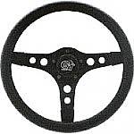 """GT Sport Thick foam Steering Wheel 13"""" Black spoke"""