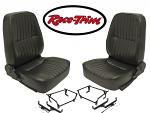 Race-Trim low Back Seats L & R